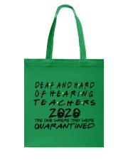 DEAF AND HARD Tote Bag thumbnail