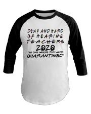 DEAF AND HARD Baseball Tee thumbnail