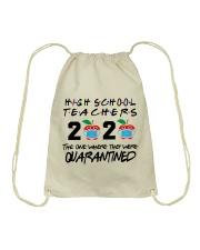 HIGH SCHOOL TEACHER Drawstring Bag thumbnail