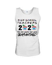 HIGH SCHOOL TEACHER Unisex Tank thumbnail