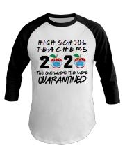 HIGH SCHOOL TEACHER Baseball Tee thumbnail