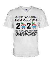 HIGH SCHOOL TEACHER V-Neck T-Shirt thumbnail