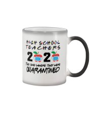 HIGH SCHOOL TEACHER Color Changing Mug thumbnail