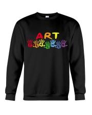 ART TEACHER DESIGN Crewneck Sweatshirt thumbnail
