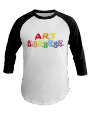 ART TEACHER DESIGN Baseball Tee thumbnail