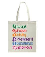 AUTISM MEANING Tote Bag thumbnail