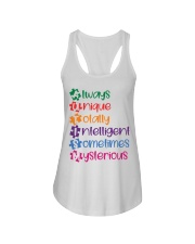 AUTISM MEANING Ladies Flowy Tank thumbnail