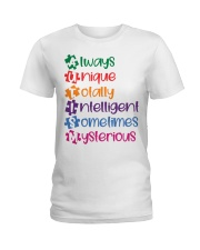 AUTISM MEANING Ladies T-Shirt thumbnail