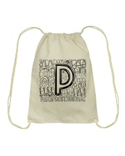 PARAPROFESSIONAL TEACHER DESIGN Drawstring Bag thumbnail