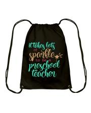 PRESCHOOL TEACHER Drawstring Bag thumbnail