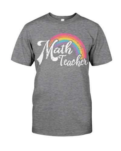 MATH TEACHER RAINBOW