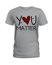 YOU MATTER Ladies T-Shirt front