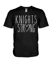 KNIGHTS STRONG V-Neck T-Shirt thumbnail