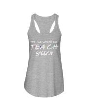 WHERE WE TEACH SPEECH Ladies Flowy Tank thumbnail