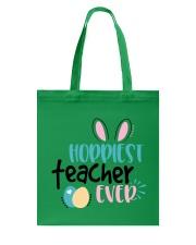 HOPPINEST TEACHER EVER Tote Bag thumbnail