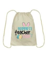 HOPPINEST TEACHER EVER Drawstring Bag thumbnail