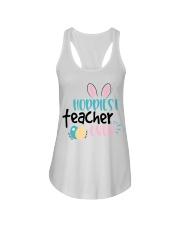 HOPPINEST TEACHER EVER Ladies Flowy Tank thumbnail