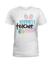 HOPPINEST TEACHER EVER Ladies T-Shirt thumbnail