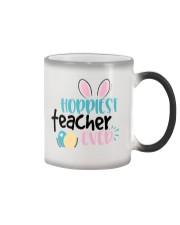 HOPPINEST TEACHER EVER Color Changing Mug thumbnail