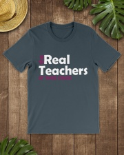 THE REAL TEACHERS OF THIRD GRADE Classic T-Shirt lifestyle-mens-crewneck-front-18