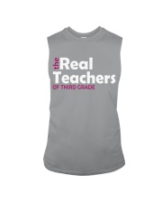 THE REAL TEACHERS OF THIRD GRADE Sleeveless Tee thumbnail