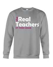 THE REAL TEACHERS OF THIRD GRADE Crewneck Sweatshirt thumbnail