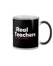 THE REAL TEACHERS OF THIRD GRADE Color Changing Mug thumbnail
