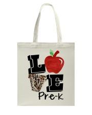 LOVE PRE-K Tote Bag thumbnail