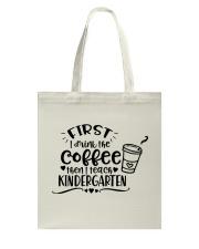 KINDER COFFEE Tote Bag thumbnail