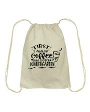 KINDER COFFEE Drawstring Bag thumbnail