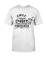 KINDER COFFEE Classic T-Shirt front