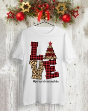 CHRISTMAS PARAPROFESSIONAL Classic T-Shirt lifestyle-holiday-crewneck-front-2