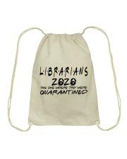 LIBRARIANS  Drawstring Bag thumbnail