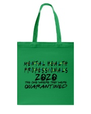 MENTAL HEALTH PROFESSIONAL Tote Bag thumbnail