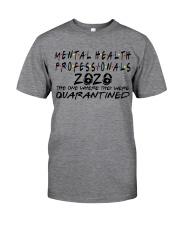 MENTAL HEALTH PROFESSIONAL Classic T-Shirt front