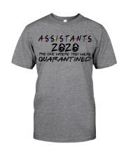 ASSISTANTS  Classic T-Shirt front