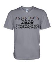 ASSISTANTS  V-Neck T-Shirt thumbnail