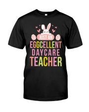 DAYCARE TEACHER Classic T-Shirt front