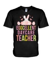 DAYCARE TEACHER V-Neck T-Shirt thumbnail
