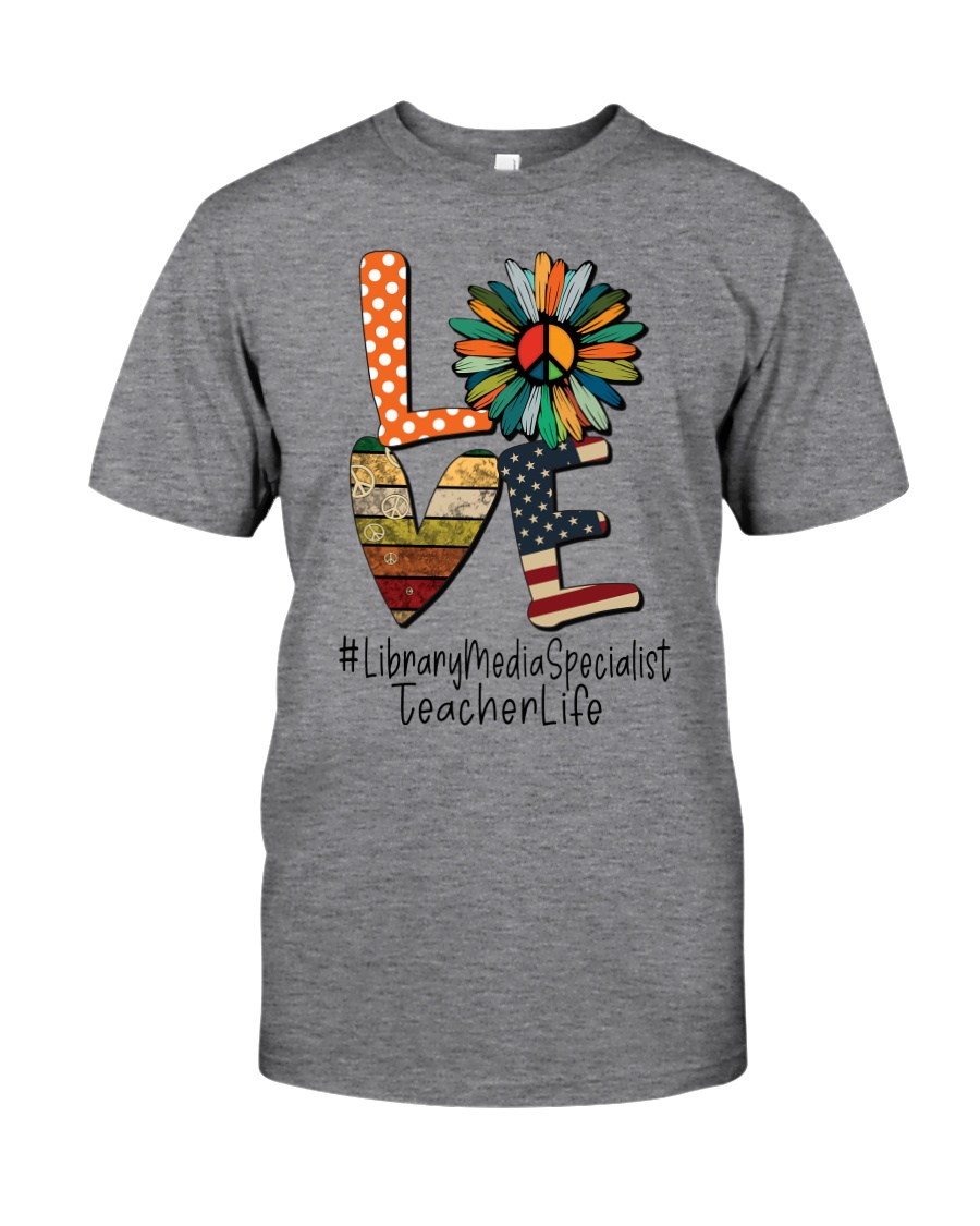 LIBRARY MEDIA SPECIALIST Classic T-Shirt