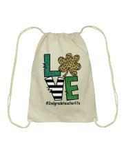 2ND GRADE LIFE LUCK Drawstring Bag thumbnail