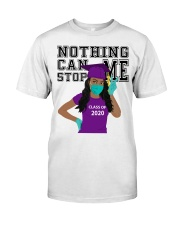 PURPLE - NOTHING CAN STOP ME Classic T-Shirt front