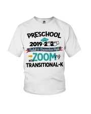 PRESCHOOL ZOOMING INTO TK Youth T-Shirt front