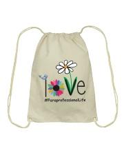 LOVE PARAPROFESSIONAL LIFE Drawstring Bag thumbnail