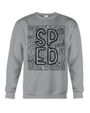 SPECIAL EDUCATION TYPO DESIGN Crewneck Sweatshirt thumbnail