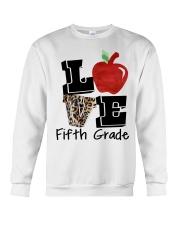 LOVE 5TH GRADE Crewneck Sweatshirt thumbnail