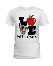 LOVE 5TH GRADE Ladies T-Shirt thumbnail