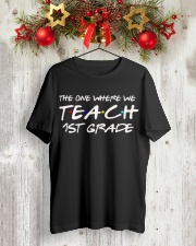 FIRST GRADE Classic T-Shirt lifestyle-holiday-crewneck-front-2