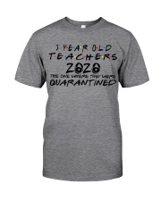 3 YEAR OLD TEACHERS Classic T-Shirt tile