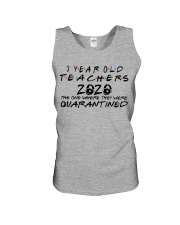 3 YEAR OLD TEACHERS Unisex Tank tile
